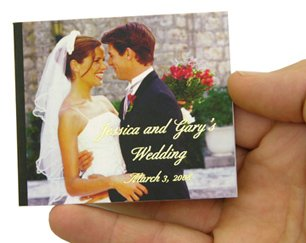 Foil on Wedding Books