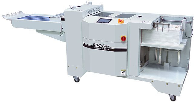 RDC-Flex Rotary Die Cutter, THERM-O-TYPE rotary die cutting equipment